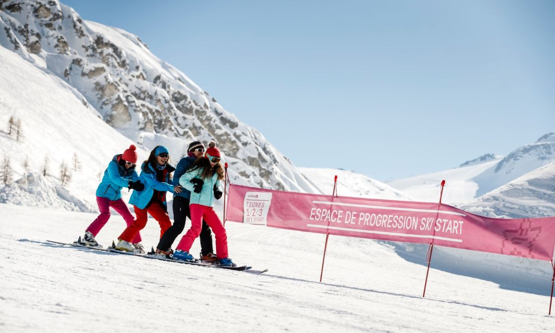 Why choosing Tignes to start skiing